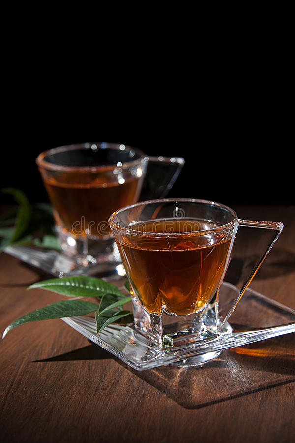 Download Tea cups stock photo. Image of glass, mate, drink, lime - 37417462