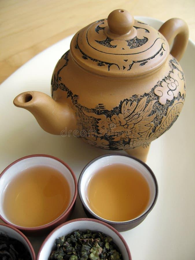 tea för kines 10 royaltyfri foto