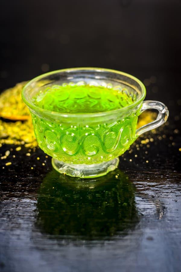 Tea of fennel or Variyali. stock images