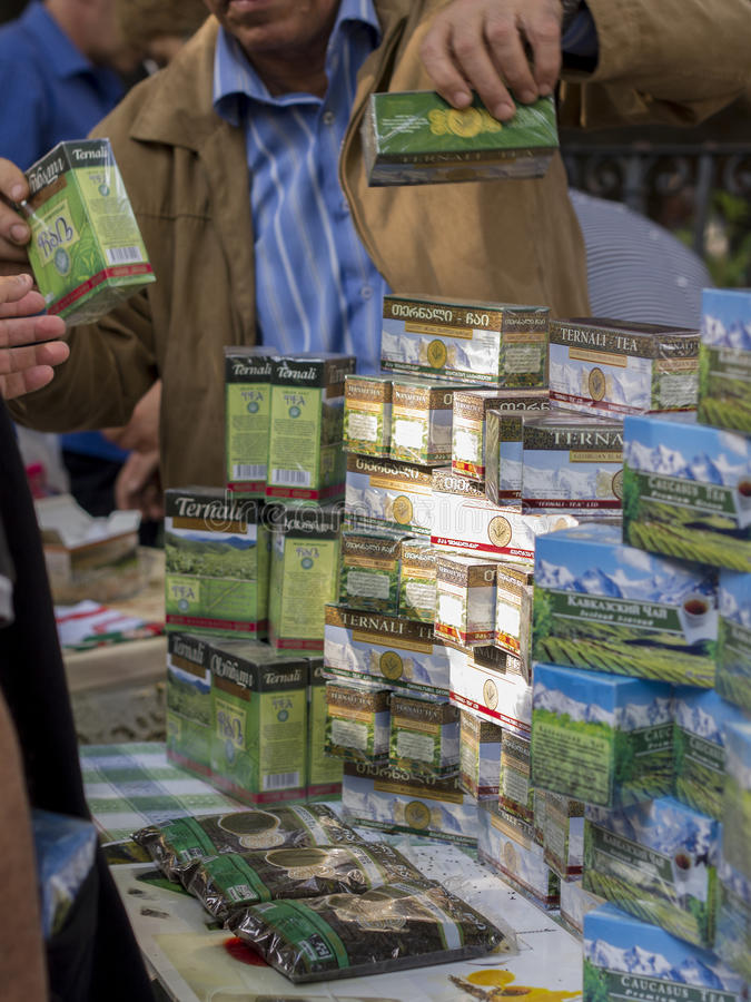 Download Tea festival editorial photo. Image of stand, selling - 27123001