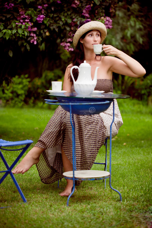 Download Tea garden stock image. Image of colour, cute, happiness - 16328533
