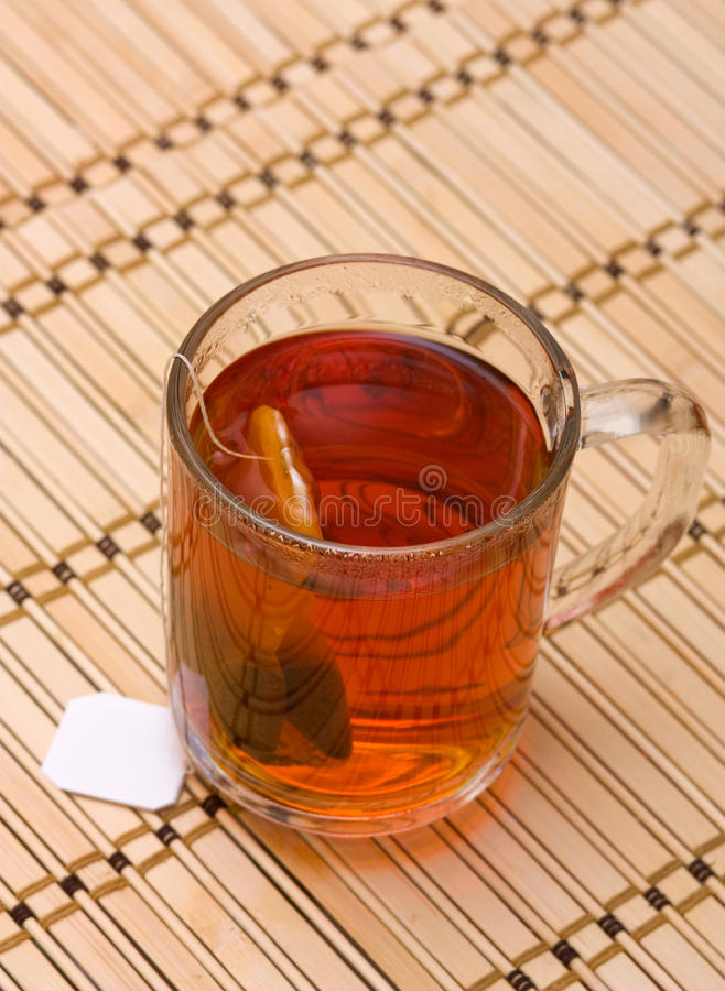 Download Tea In A Glass Stock Photo - Image: 12301920