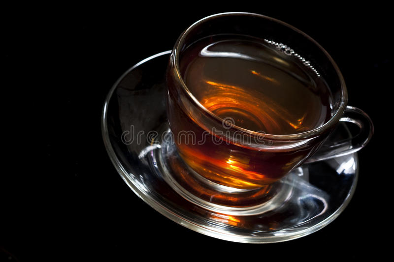 Download Tea in glass cup stock image. Image of refreshment, macro - 13396181