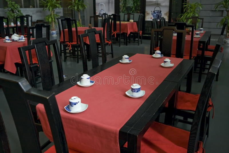 Tea house royalty free stock image
