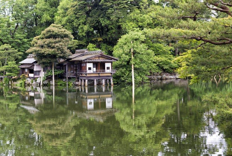 Tea House in Kanazawa royalty free stock image