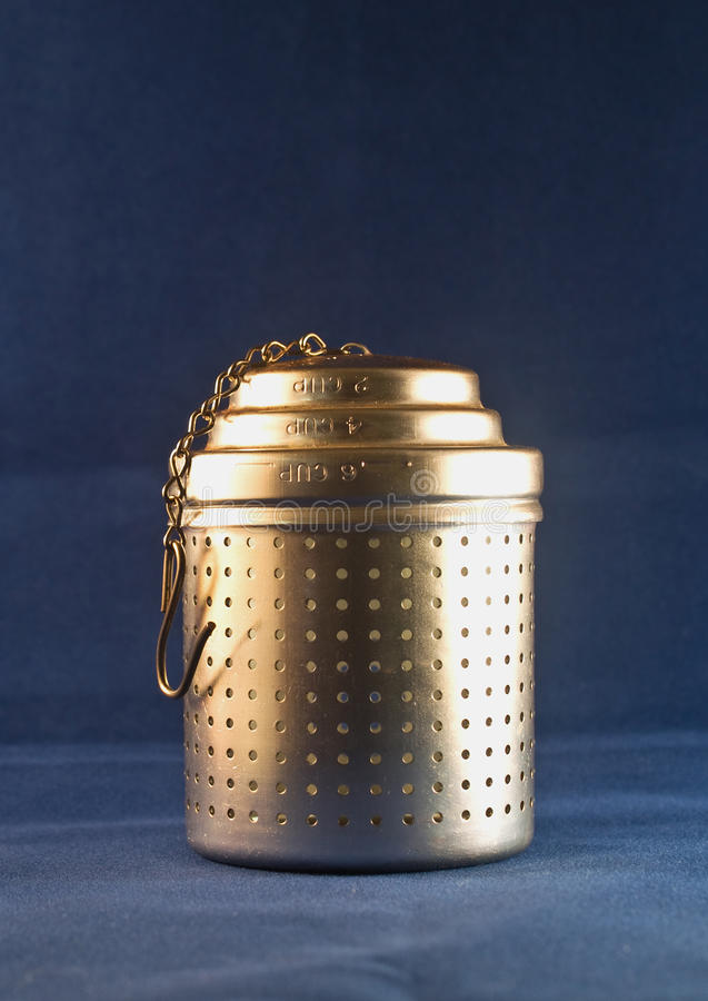 Download Tea infuser stock photo. Image of fashioned, chain, holes - 16283634