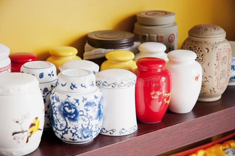 Tea jar royalty free stock image