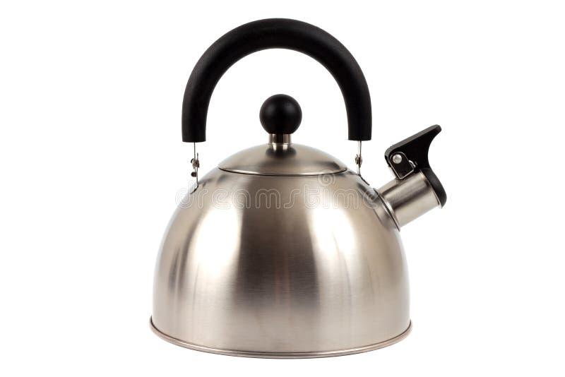 Tea kettle. On white background stock image