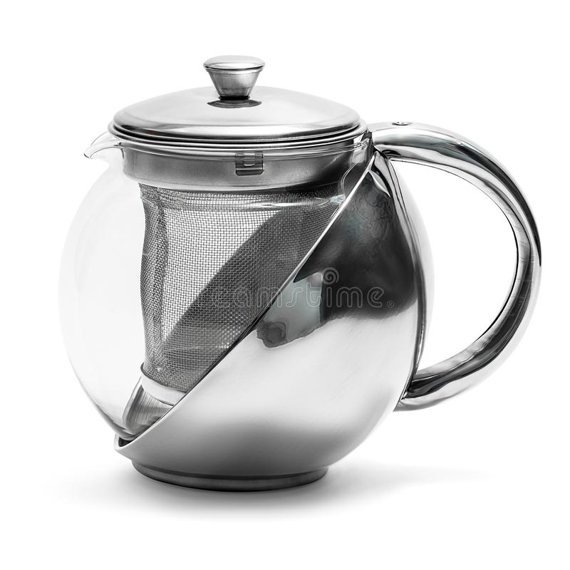 Tea kettle isolated royalty free stock image