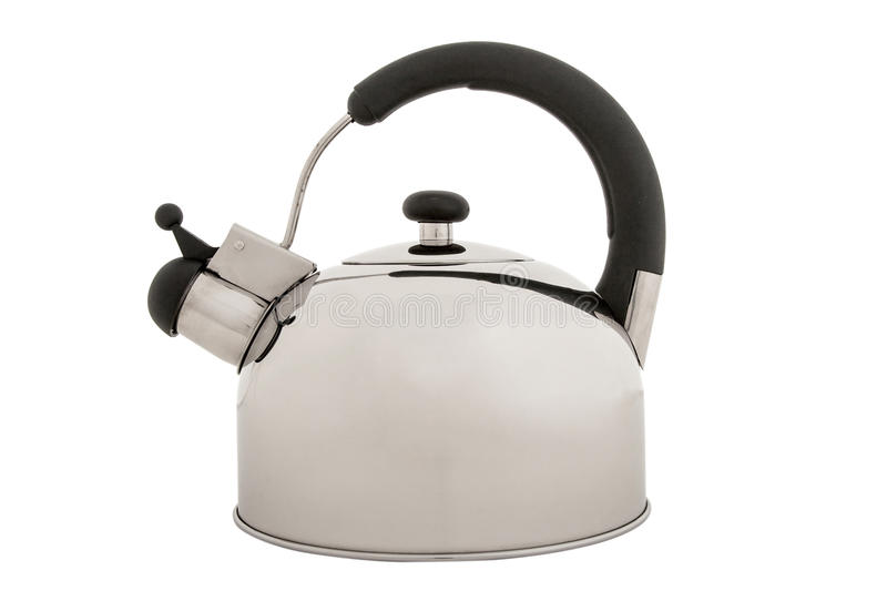 Tea kettle isolated on white background royalty free stock images