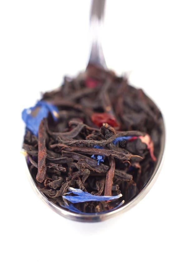 Download Tea Leaves Macro stock image. Image of black, organic - 20790389