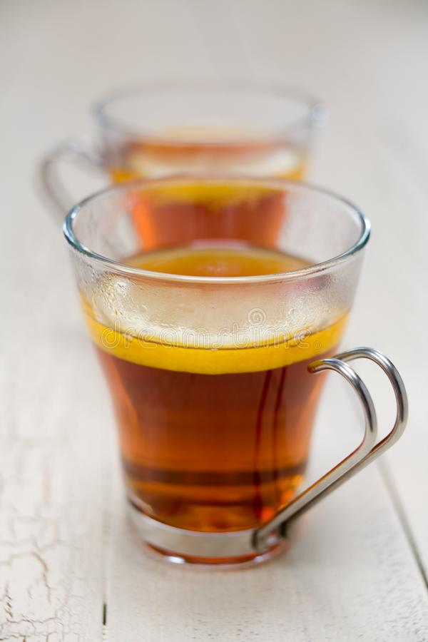 Tea lemon royalty free stock images