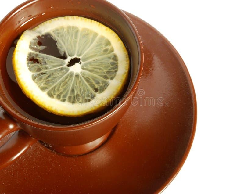 Tea with a lemon