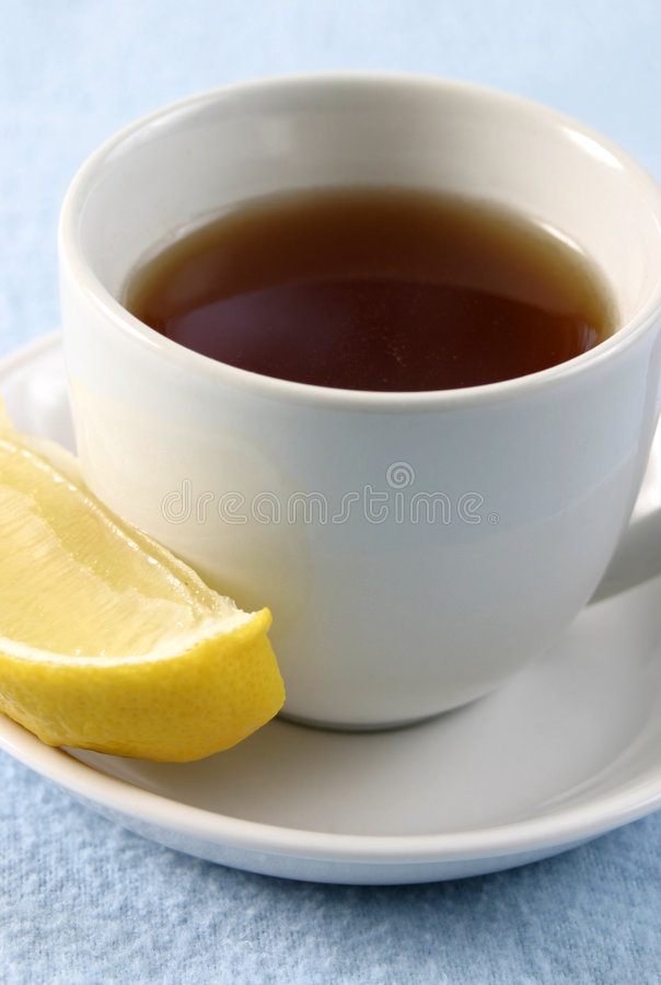Tea with Lemon royalty free stock photography