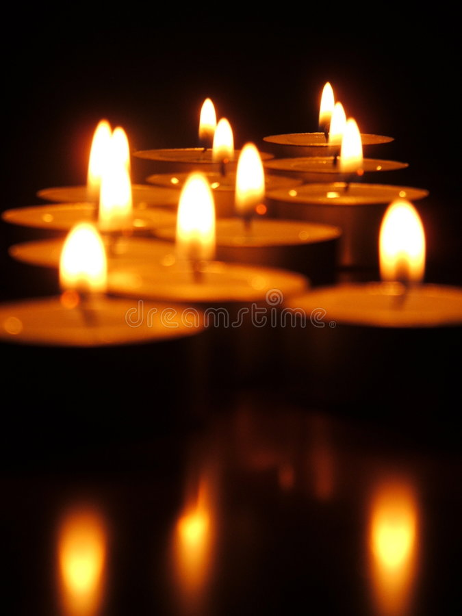 Download Tea Lights Royalty Free Stock Photo - Image: 2668035