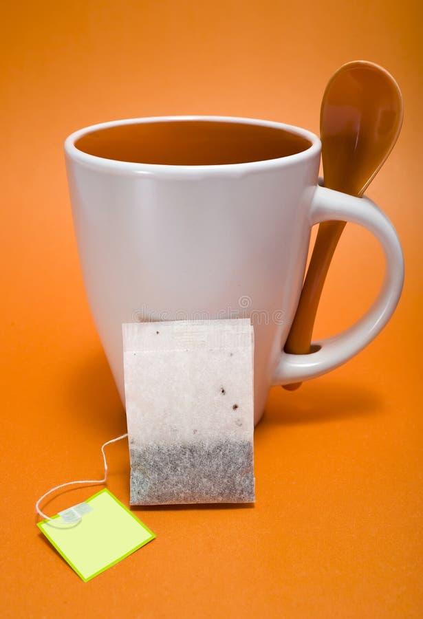 Tea mug with filter royalty free stock photos