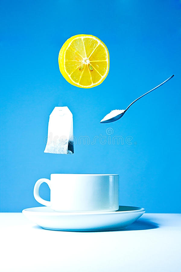 Download Tea party stock image. Image of morning, citrus, spoon - 27508191