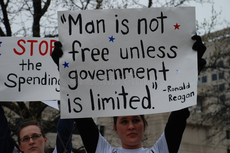 Download Protester editorial stock image. Image of stimulus, united - 8984644