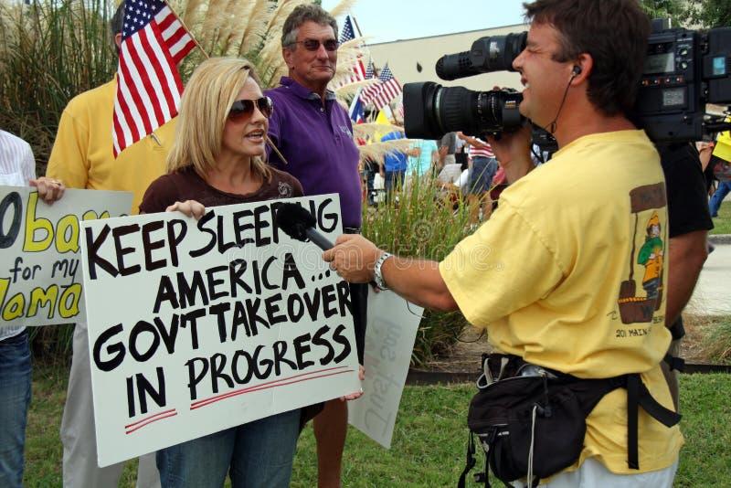 Tea Party Express royalty free stock photo