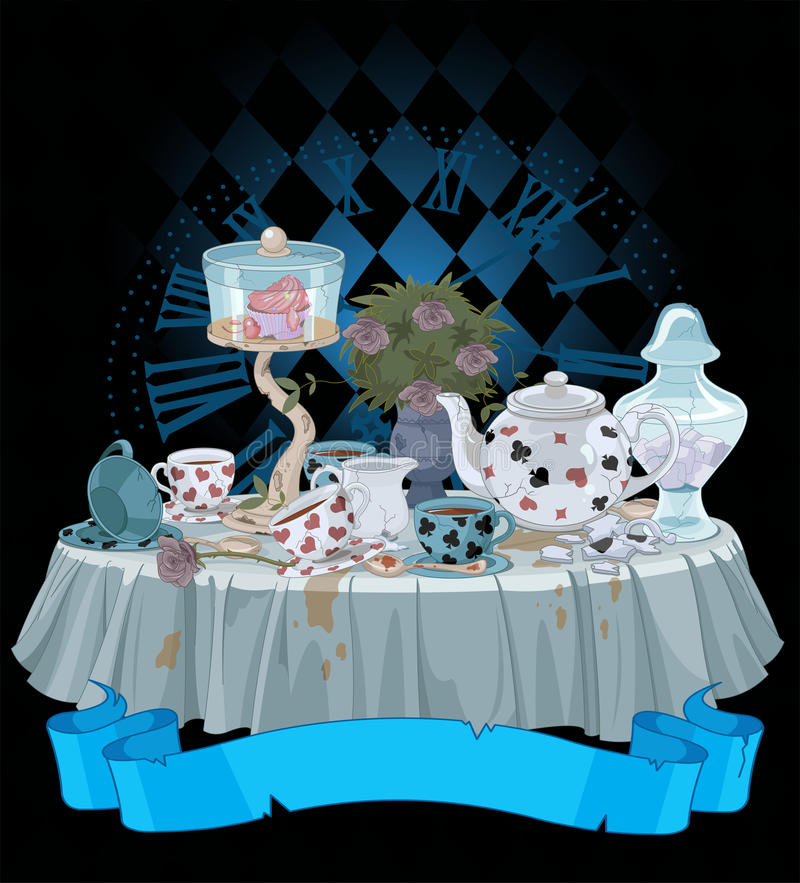 Tea Party stock illustration
