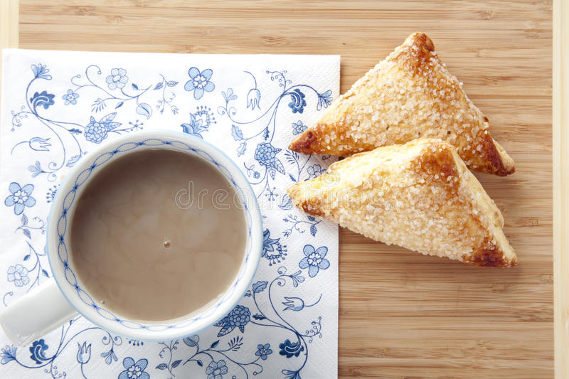 Tea and Pastries royalty free stock photography