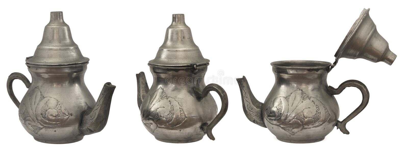 Download Tea pot stock image. Image of beautiful, metallic, history - 20513161
