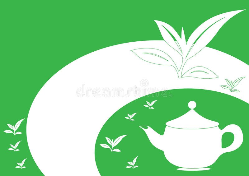 Download Tea pot stock vector. Image of background, kettle, packaging - 23664820