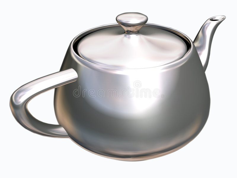 Download Tea pot stock photo. Image of black, clipping, path, pots - 7631226