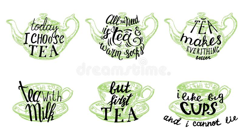 Tea Quotes Stock Illustrations – 269 Tea Quotes Stock ...