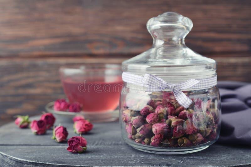 Tea Rose Flowers Stock Photo