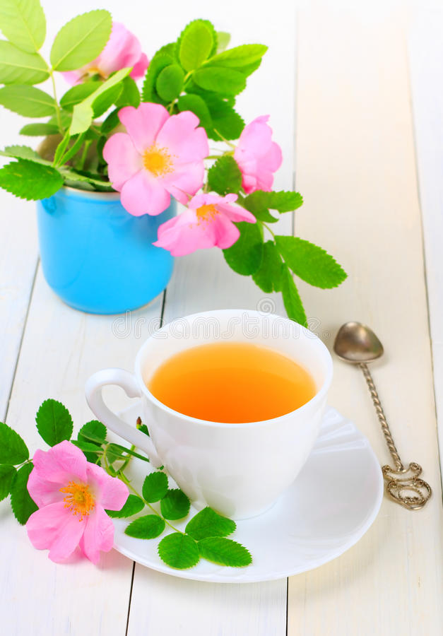 Download Tea with rose hip stock photo. Image of medicine, pink - 25221632