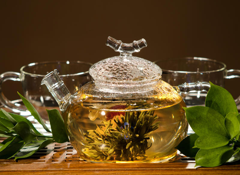 Download Tea service stock image. Image of horizontal, dishes - 25896783