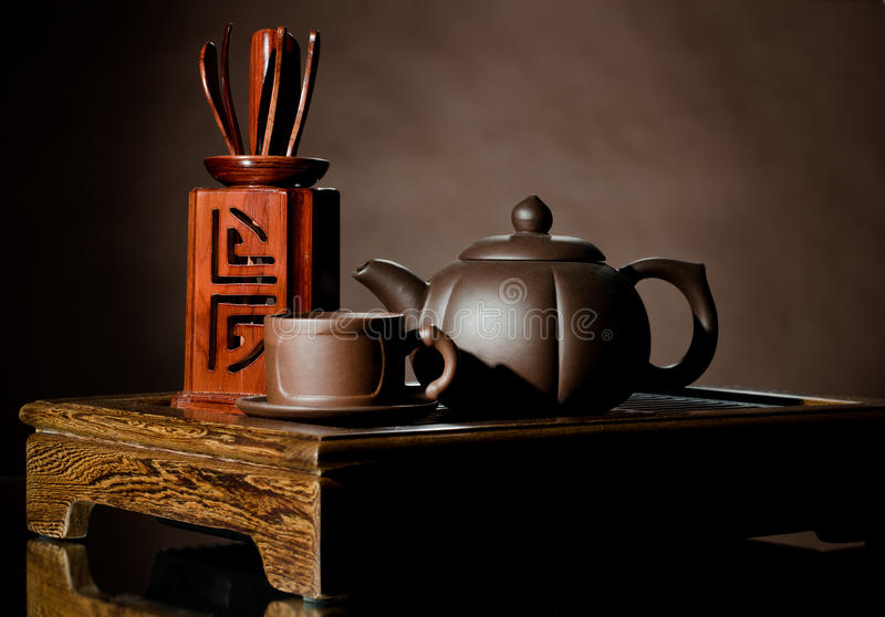 Download Tea service stock image. Image of close, earthenware - 26527443