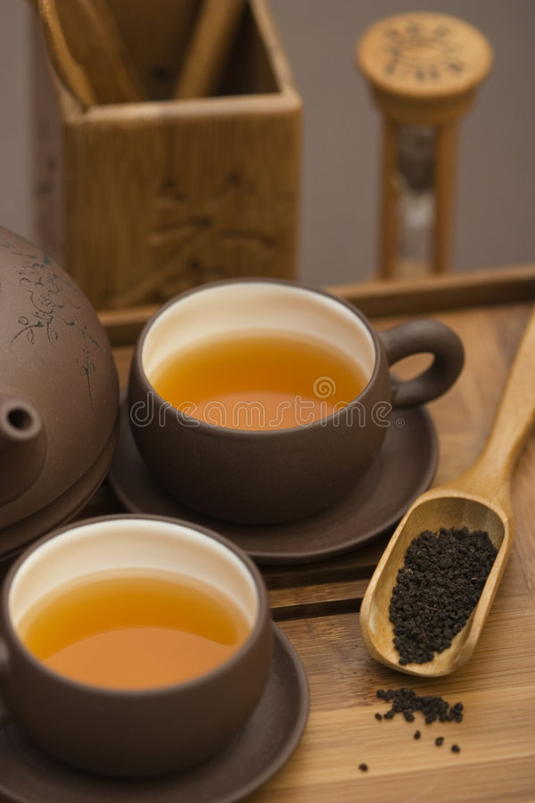 Tea Serving Stock Image