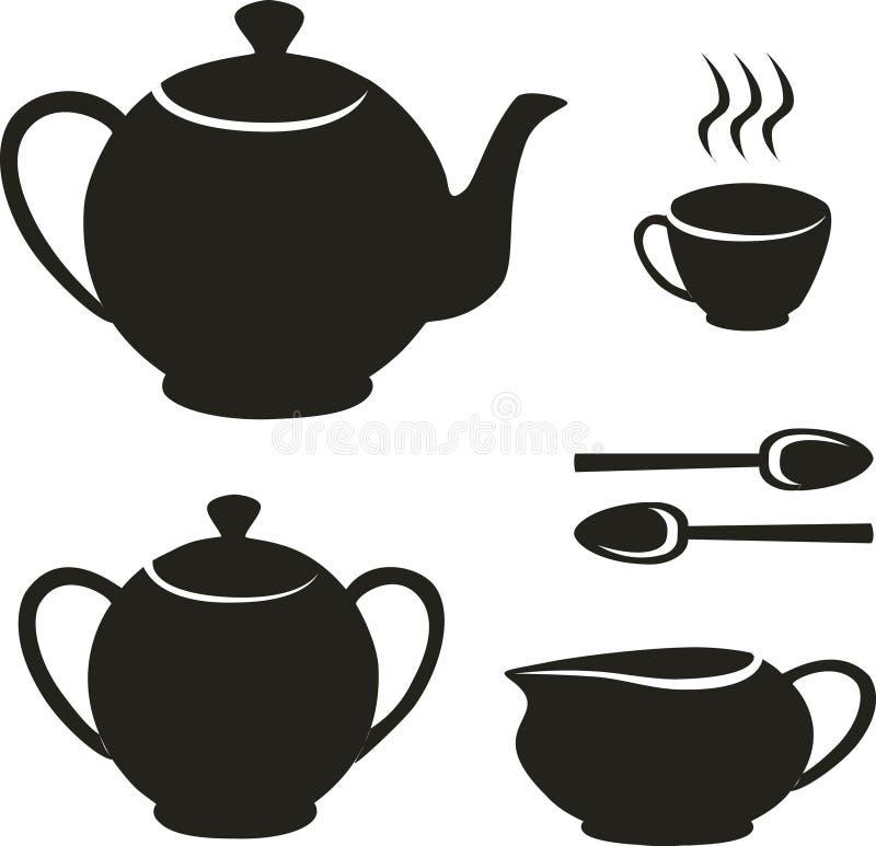 Free Tea Set Stock Photography - 8555292