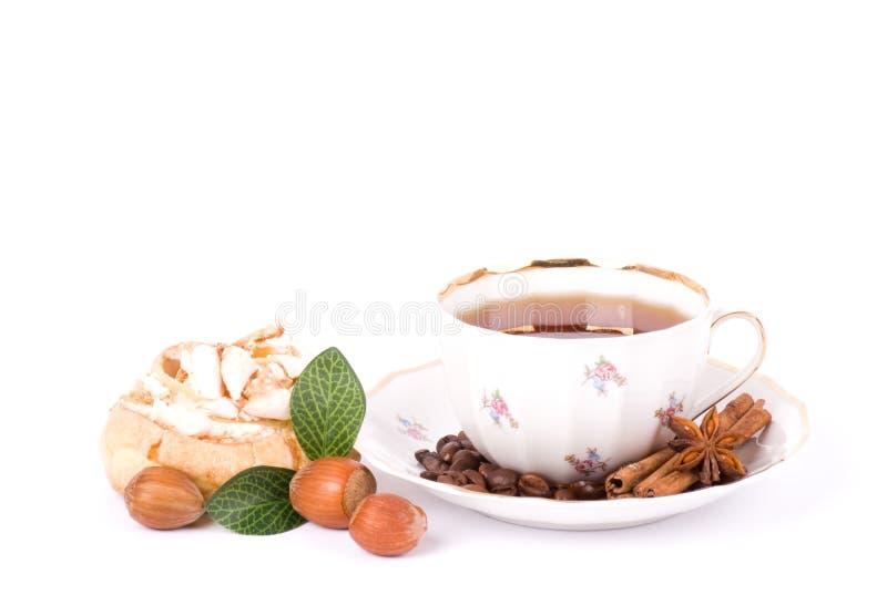 Tea Set With Cupcakes Royalty Free Stock Photos