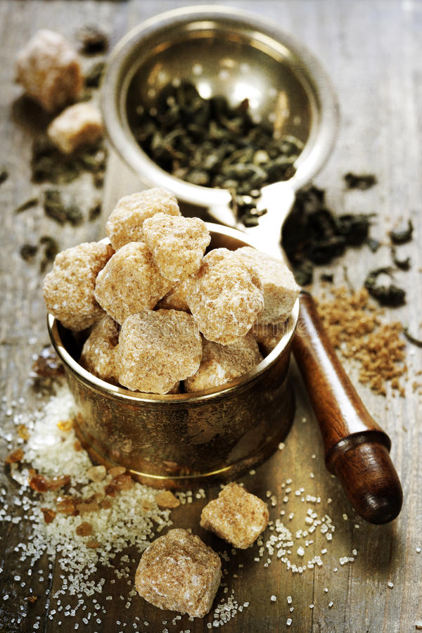 Download Tea and sugar stock photo. Image of cane, ingredient - 26456764