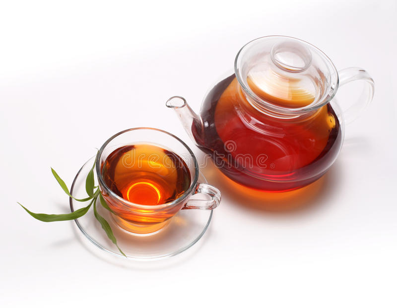Download Tea and teapot stock image. Image of thirsty, plate, food - 13977195