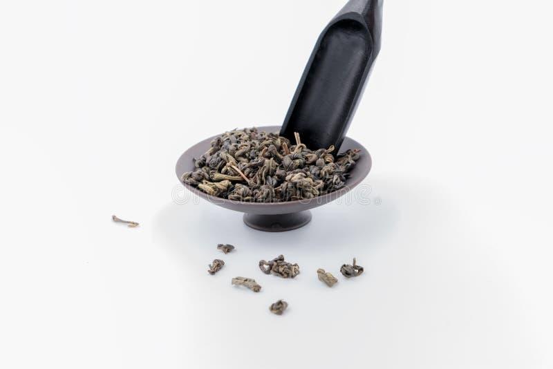 Tea Teaspoon and saucer stock photography