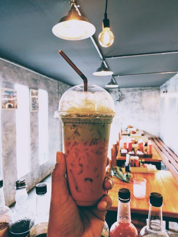 Tea thai mix Green tea royalty free stock photos