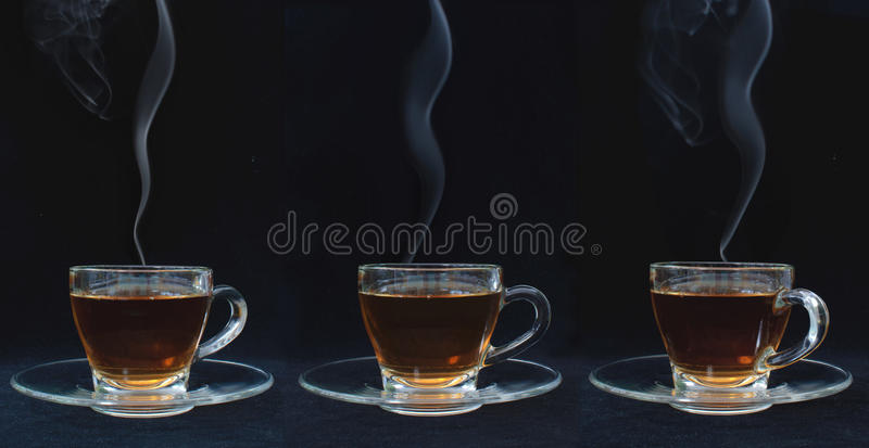 Download Tea stock image. Image of cups, saucer, steam, handle - 32907923