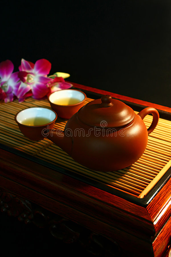 Tea time 05 royalty free stock images