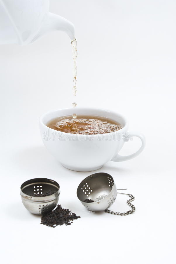 Download Tea Time stock image. Image of fill, drip, over, lunch - 12269177