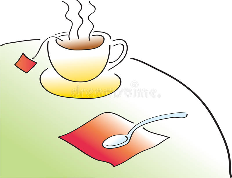 Download Tea Time stock vector. Illustration of poured, afternoon - 17584078