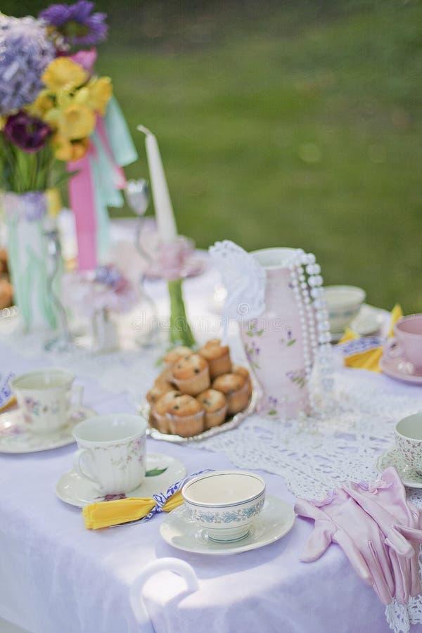 Tea time stock photography