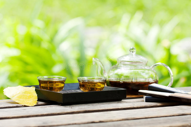 Download Tea time stock photo. Image of water, nature, relaxing - 26382674