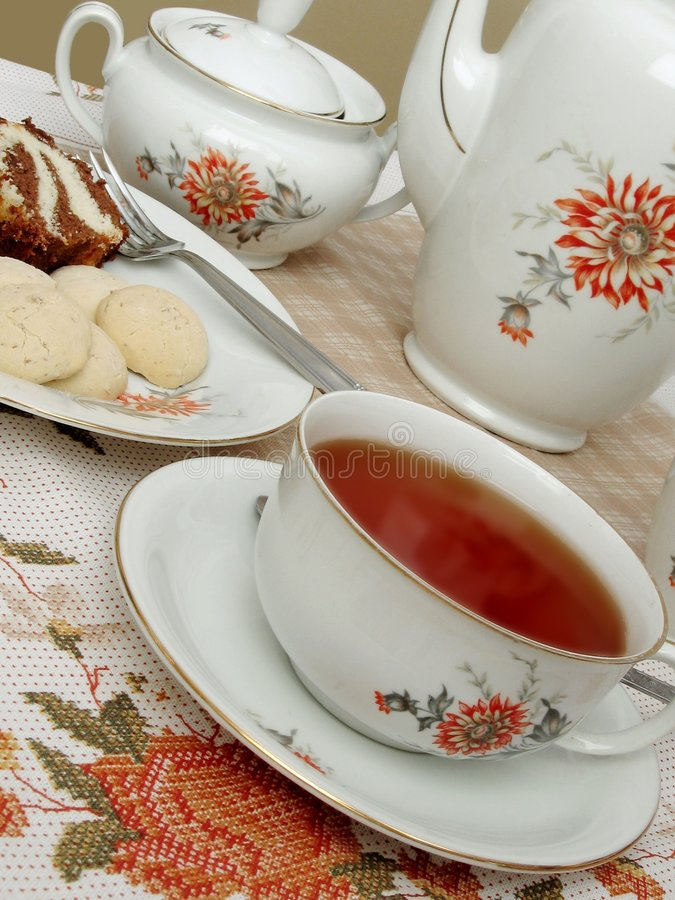 Free Tea Time - 3 Royalty Free Stock Image - 1477156