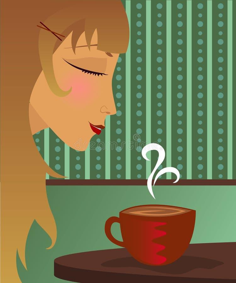 Download Tea Time stock illustration. Image of enjoy, gourmet, profile - 598951