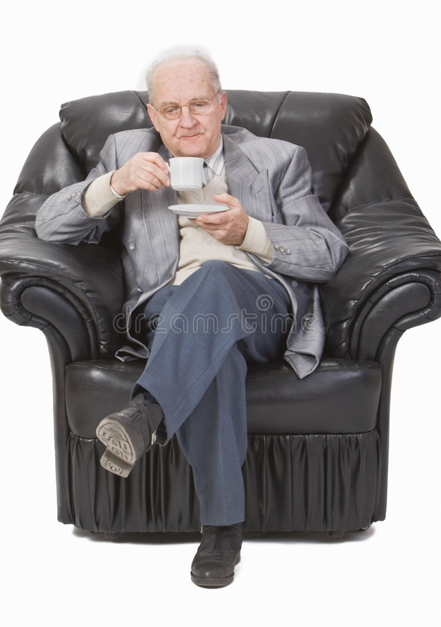 Download Tea time stock photo. Image of senior, relaxed, habit - 6422072