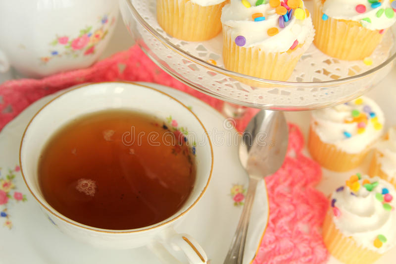 Tea Time Afternoon Stock Images